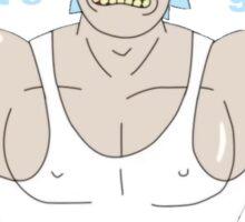 Rick and Morty - Big Rick Swole Patrol Sticker