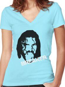 Breaker Women's Fitted V-Neck T-Shirt