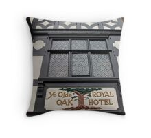 Tudor Window Throw Pillow