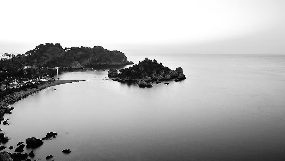 Taormina - Isola bella  by Peppedam