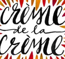Crème de la Crème – Autumn Palette Sticker
