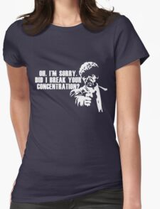 Jules is sorry Womens Fitted T-Shirt