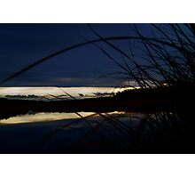 Dark blue sky Photographic Print