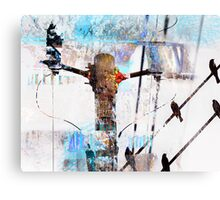 Hi Voltage Love Nest Canvas Print