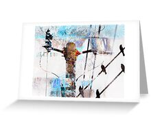 Hi Voltage Love Nest Greeting Card