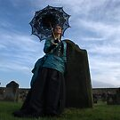 Gothic Victorian Lady at Whitby by Scott Read
