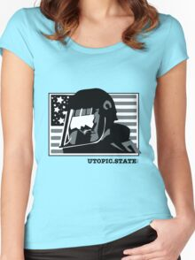 State Rules Women's Fitted Scoop T-Shirt