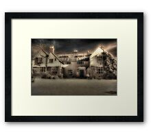 Mysterious Mansion Framed Print