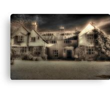 Mysterious Mansion Canvas Print