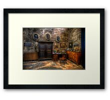 Church Office Framed Print