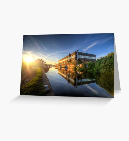 Suburban Sunrise 4.0 Greeting Card