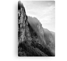 BW Alpes Canvas Print