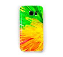 multi colored flower Samsung Galaxy Case/Skin