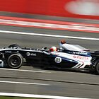 Rubens Barrichello - Monza by Tom Clancy