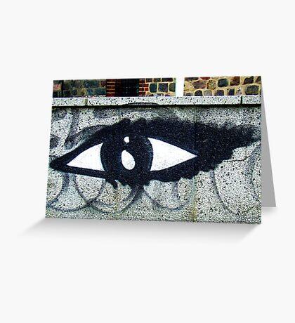 Eye of the street Greeting Card
