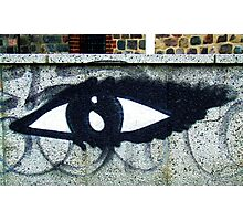 Eye of the street Photographic Print