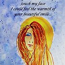 Greeting Card - Thinking of You and Your Smile... by Robin Monroe