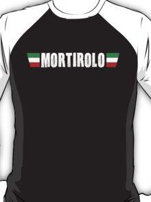 Mortirolo Cycling Italian Colors Shirt T-Shirt