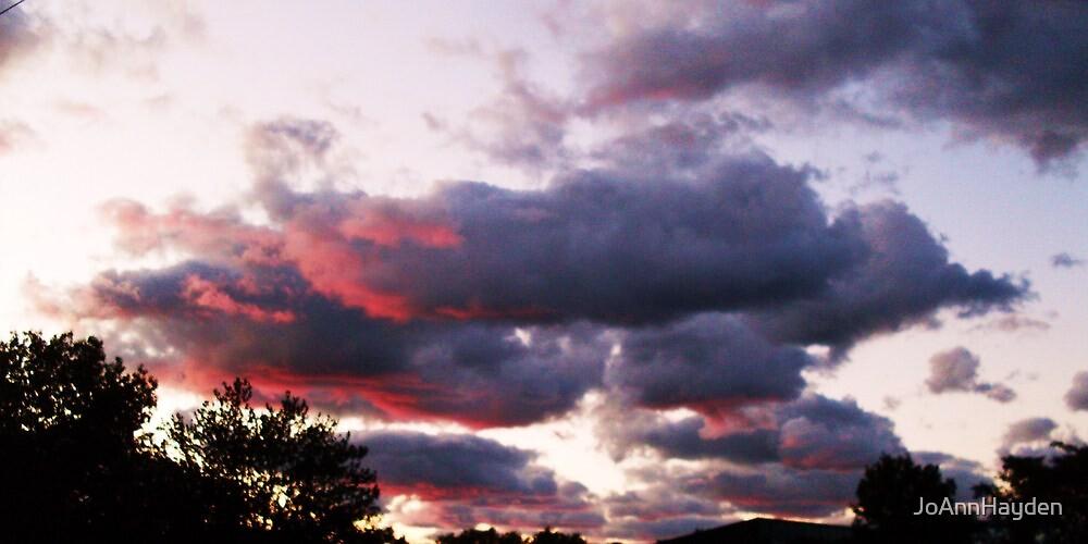 STORMY SUNSET by JoAnnHayden