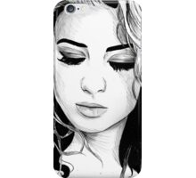 Tori Kelly Pen Drawing iPhone Case/Skin