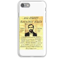 Blackjack Bowen Wanted iPhone Case/Skin
