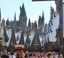 Hogsmeade by LittlestMermaid