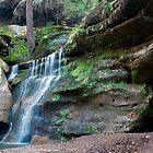 Waterfall, Cedar Falls Area, Hocking Hills State Park by Sam Warner