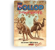 The Dollop - DOWNUNDER Canvas Print