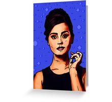 Jenna Coleman a.k.a Clara Oswald Greeting Card
