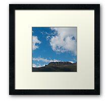 Olympus Framed Print
