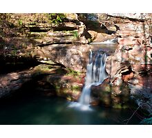 Upper Falls, Old Man's Cave - Hocking Hills State Park Photographic Print