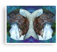 Stereoscopic Reality Canvas Print
