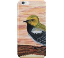 Goldfinch Among Sunset Sky  iPhone Case/Skin
