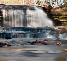 Waterfall - Hocking Hills State Park by Sam Warner