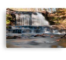 Waterfall - Hocking Hills State Park Canvas Print