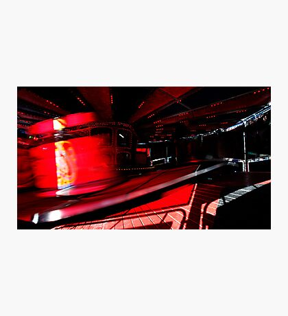 On Red Photographic Print