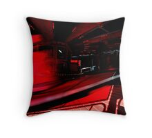On Red Throw Pillow