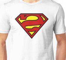 Reverse Superman Logo Unisex T-Shirt
