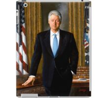 President Bill Clinton Painting iPad Case/Skin