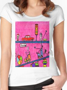 Child's Play Women's Fitted Scoop T-Shirt