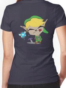 Link-Gir (full size) Women's Fitted V-Neck T-Shirt