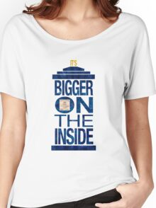 It's Bigger on the Inside - Tardis Grunge Women's Relaxed Fit T-Shirt