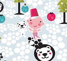 Christmas boy. by Ekaterina Panova