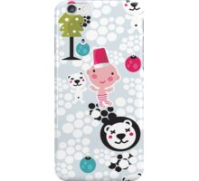 Christmas boy. iPhone Case/Skin