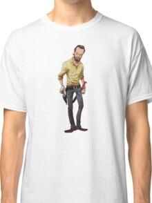 The Walking Dead Rick Cartoon Classic T-Shirt
