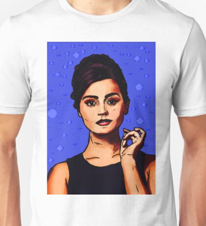 Jenna Coleman a.k.a Clara Oswald Unisex T-Shirt
