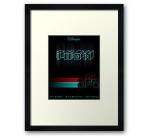 Tron Minimal Framed Print