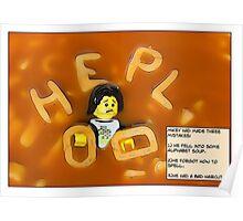 Alphabet Soup. Poster