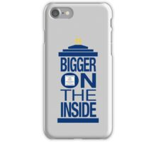 It's Bigger on the Inside - Tardis iPhone Case/Skin