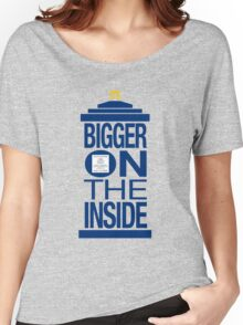 It's Bigger on the Inside - Tardis Women's Relaxed Fit T-Shirt